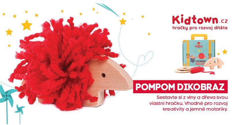 pompom-dikobraz